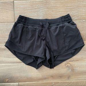 Lululemon Black Lined Shorts